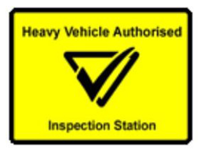heavy vehicle inspection station